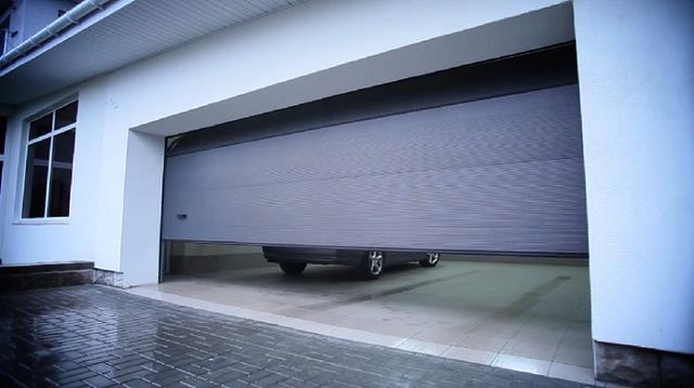 Подъемные ворота гаражные