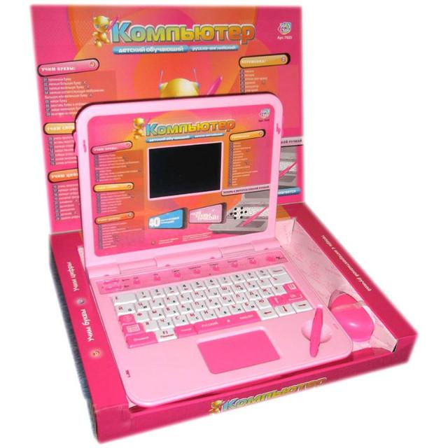 Детский обуч. компьютер Joy Toy 7025 с стилусом