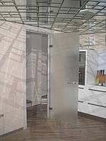 Изготовление стеклянных дверей. Киев. Купить