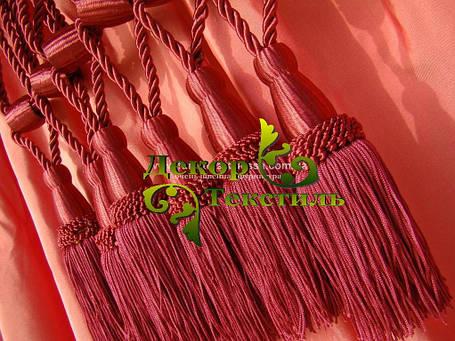 Декоративные кисти для штор, Бордовый (пара), фото 2
