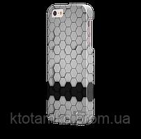 Чехол-накладка для iPhone 5/5S 3D соты V2