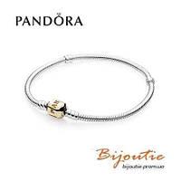 Pandora браслет 590702HG серебро 925 золото 14к Пандора оригинал