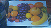 Доска кухонная стекло Фрукты-3 (20х30 см)