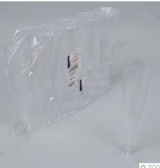 Одноразовые бокалы под шампанское 10 штук