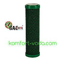 """Антибактеріальний вугільний картридж Aquafilter FCCBL-G-AB, 10"""""""