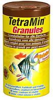 Корм для аквариумных рыб гранулированный Tetra TETRAMIN Granules (Тетра Тетрамин Гранулы), 500 мл