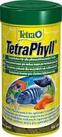 Корм для растительноядных рыб Tetra Phyll,   250 мл