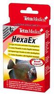 Дезинфицирующее средство для декоративных пресноводных рыб Tetra Medica HexaEx, 20 мл