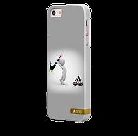 Чехол-накладка для iPhone 5/5S Adidas V4