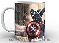 Кружка Captain America Avengers