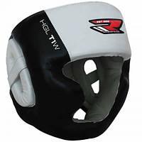 Боксерский шлем с защитой подбородка RDX WB. S, M