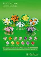 Натуральное мыло корзинка с розами 120 г