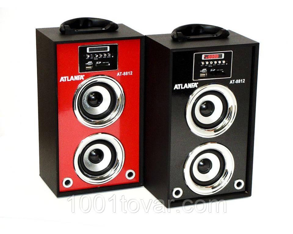 Радиоприемник — портативная акустика Atlanfa AT-8812