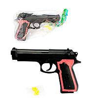 Игрушечный пистолет с пульками M 163 SR