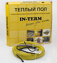 Теплый пол - Двухжильный нагревательный кабель IN-TERM 1300 Вт – 64 м (Fenix Чехия), фото 3