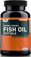 Fish Oil Softgels Optimum Nutrition, 100 капсул