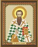 Схема для вышивания бисером икона Свт. Василий Великий С 6108