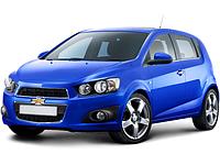 Брызговики модельные Chevrolet Aveo hb 2012- (Лада Локер)
