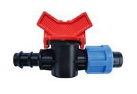 Кран SantehPlast для капельной ленты и трубки