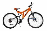 """Двухподвесный горный велосипед Azimut Power D 24"""""""