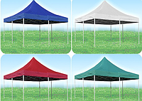 Тент на  шатер 2х3м, крыша на шатёр