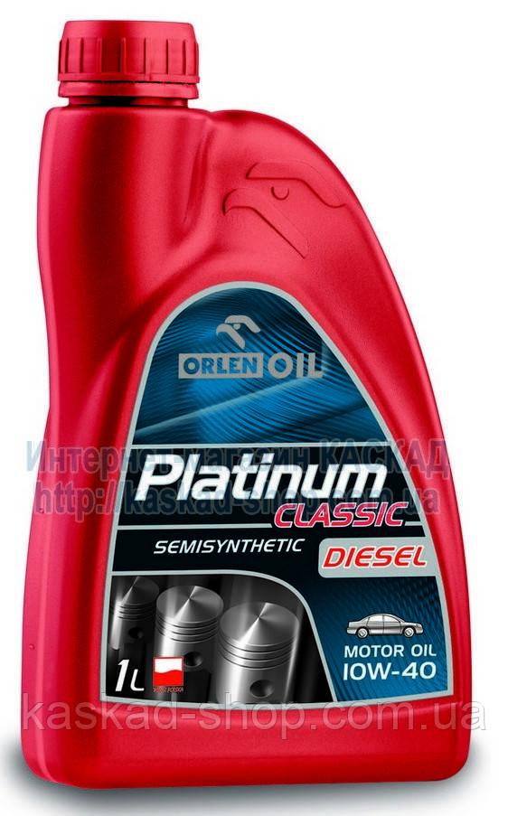 Масло моторное Platinum Classic Diesel Semisynthetic 10W-40 1L