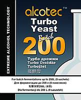 Спиртовые турбо - дрожжи Alcotec Turbo Yeast Batch 200
