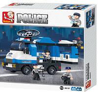 Конструктор Полицейский спецназ машина 285 деталей. М38-В0187 Sluban