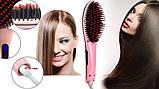 Электрическая расческа Fast Hair Straightener, выпрямитель для  волос, фото 5
