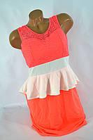 Платье KH-1010 (коралл), фото 1