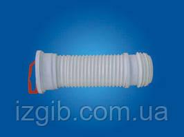 Отвод для унитаза АРМИРОВАННЫЙ гибкий L=415мм ОУ 415