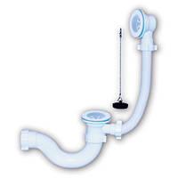 СПВПГ - 003 Ванна с пласт. выпуском и переливом (мешок) (10)+ ПРОБКА