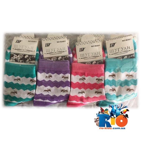 Детские  носочки В26 , для девочек от 14-16 лет