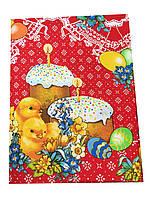 Яркая Пасхальная  скатерка на кухонный столик 130-180 см