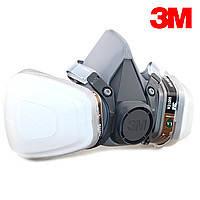 Полумаска защитная фирмы 3М с фильтрами.