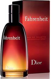 DIOR FAHRENHEIT EDT 100 ml туалетная вода мужская (оригинал подлинник  Франция)