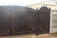 Ворота в Севастополе.  Изготовление и установка.