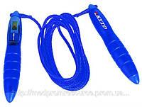 Профессиональная цифровая скакалка JPR-2101 KYTO (счетчик, часы) шнур 3М США