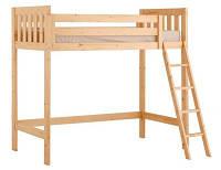 """Детская кровать-чердак  из дерева """"Кармен"""""""