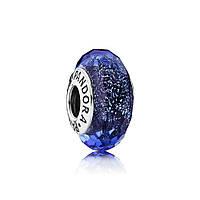 Бусина Пандора Синяя
