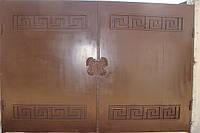 Ворота. Калитки.  Заборы металлические. Изготовление ворот, заборов  в Севастополе и Ялте