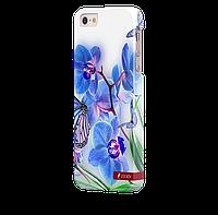 Чехол-накладка для iPhone 5/5S Бабочка V4
