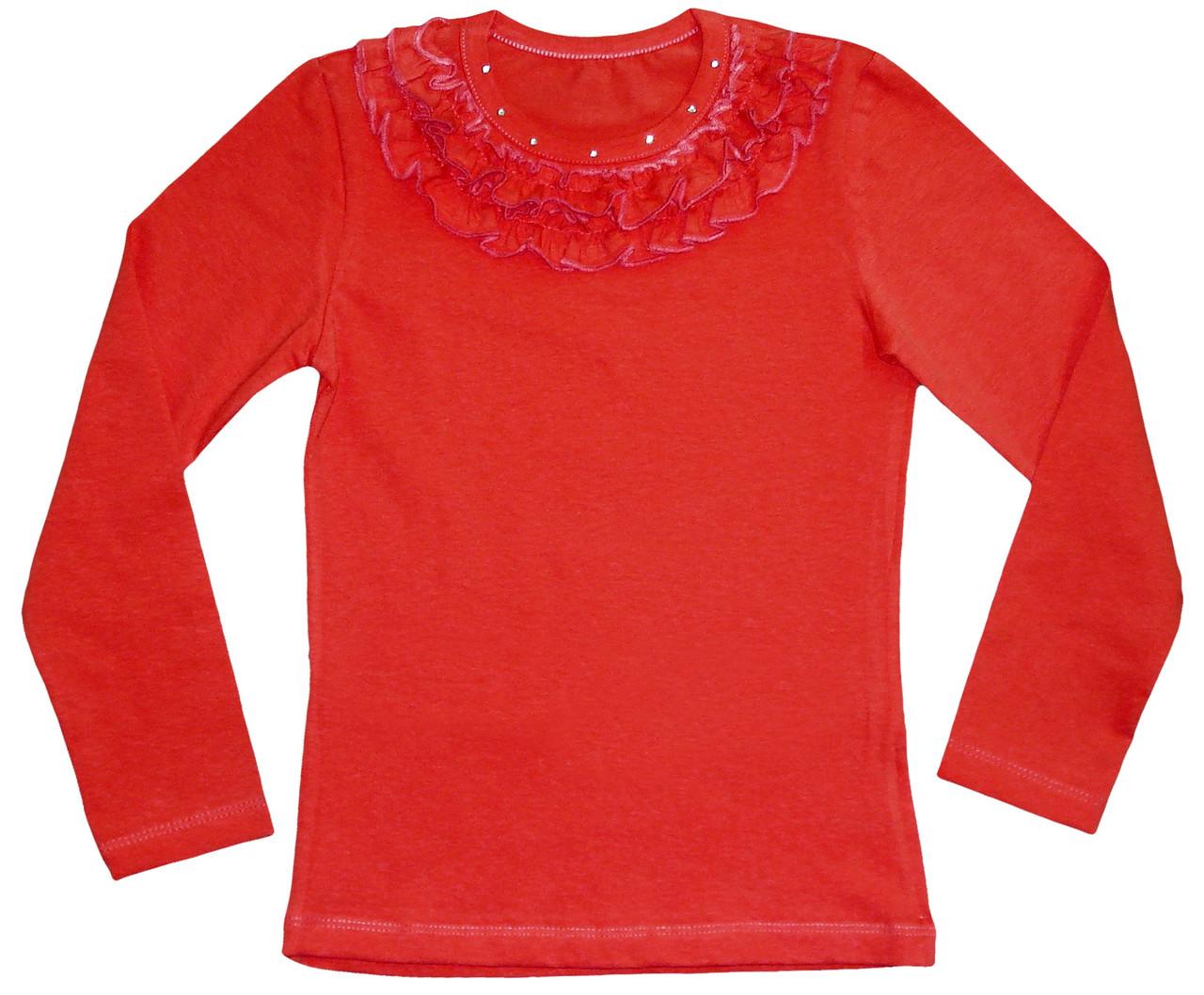"""Нарядная блуза для девочки """"Рюши"""""""