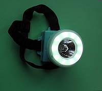 Фонарь светодиодный налобный КК-3680, на батарейках