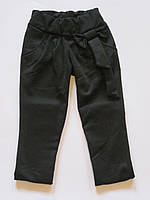 Красивые брюки-лосины для девочки