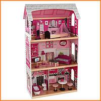 Дом для кукол KidKraft Pink and Pretty кукольный дом с мебелью 65865