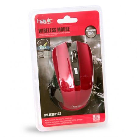 Мышка Havit HV-MS921GT Беспроводная Red