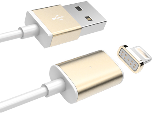 Магнитный кабель Magnetic to USB Cable Apple 5/5S/6 MD818FE