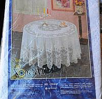 Скатерть Ажурная  круглая 180см, фото 1