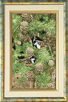 Набор для вышивания нитками Настроение леса 1 10213